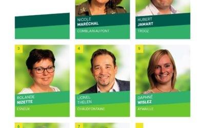 Nos candidats provinciaux sur le district de Fléron