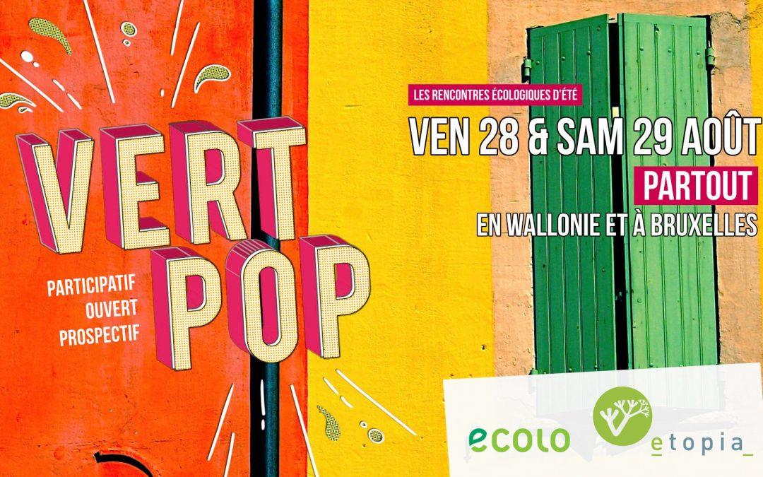 Vert Pop débarque à Liège les 28 et 29 août !