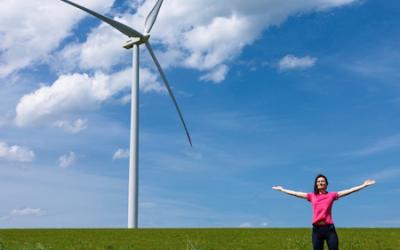 A Juprelle, une première éolienne citoyenne en région liégeoise !