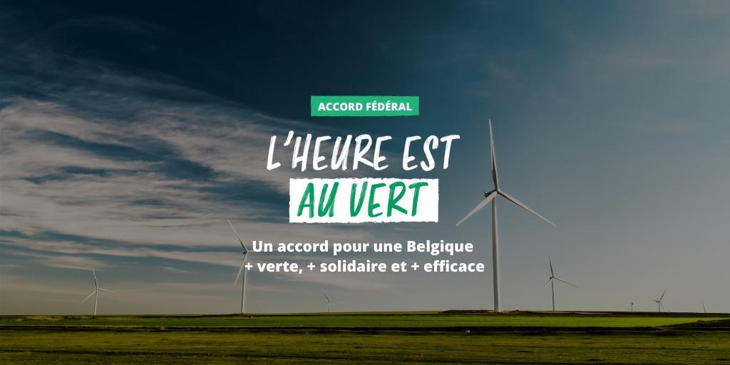 Accord fédéral : l'heure est au Vert !