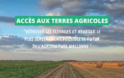 Veronica Cremasco veut faire de la position bruxelloise une opportunité pour débattre de l'accès à la terre pour les agriculteurs.rices