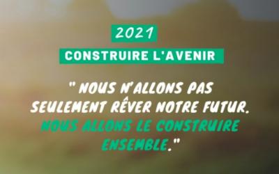 Bienvenue en 2021, année de l'espoir !