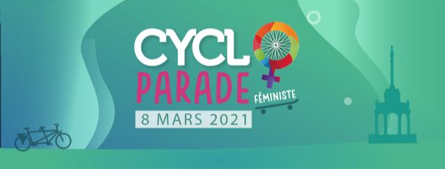 Participez à la Cycloparade féministe liégeoise ce lundi 8 mars !