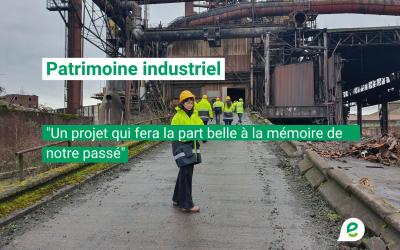 Veronica Cremasco sur le patrimoine industriel wallon: «Faire la part belle à la mémoire de notre passé»