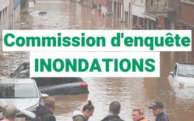 Inondations : Olivier Bierin et Veronica Cremasco siégeront au sein de la commission d'enquête au Parlement Wallon