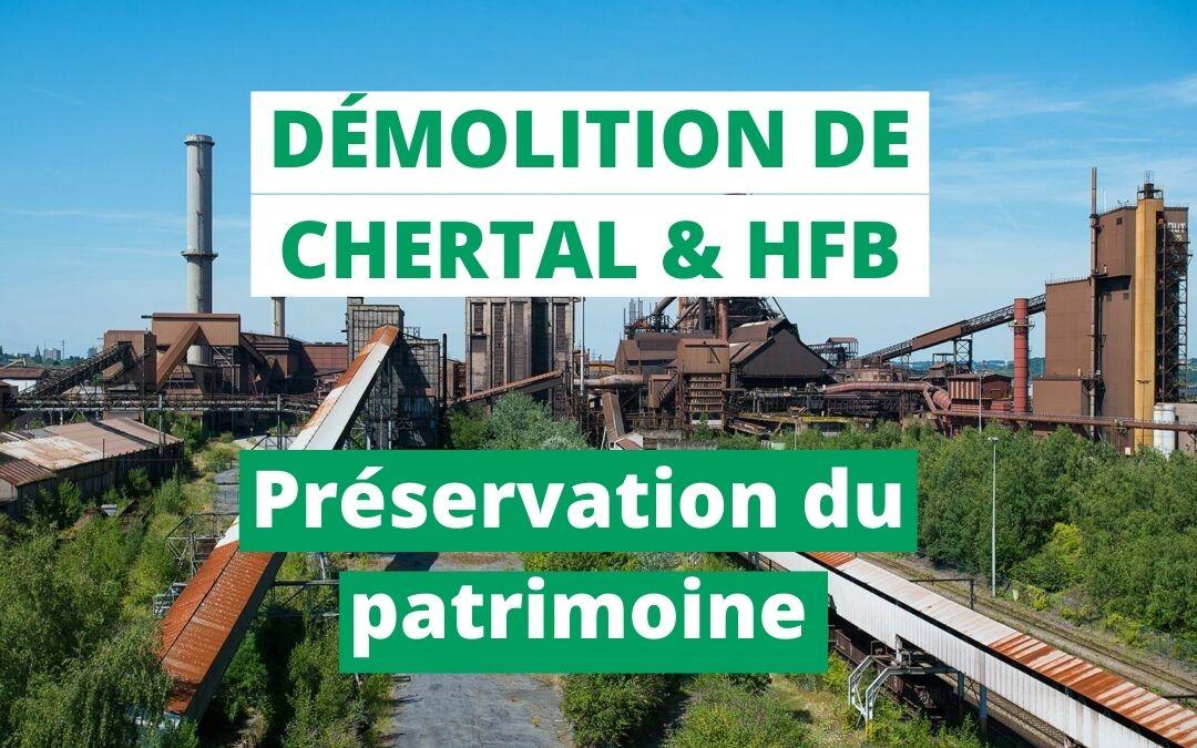 Site de Chertal et du HFB : Une reconversion nécessaire et des éléments patrimoniaux préservés